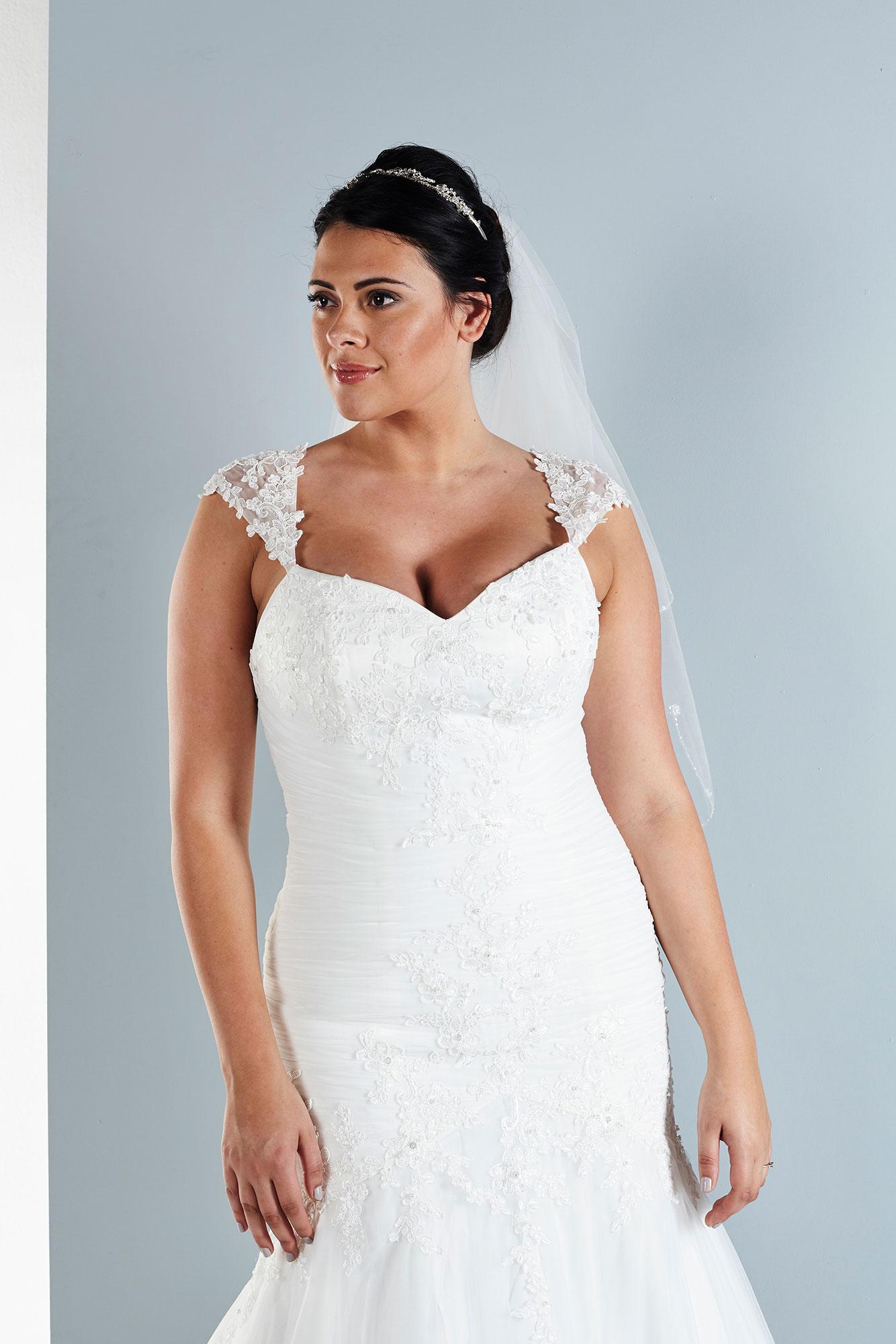 2714be1f9e34a Wedding Dress - Avril - Luxury Discount Bridalwear