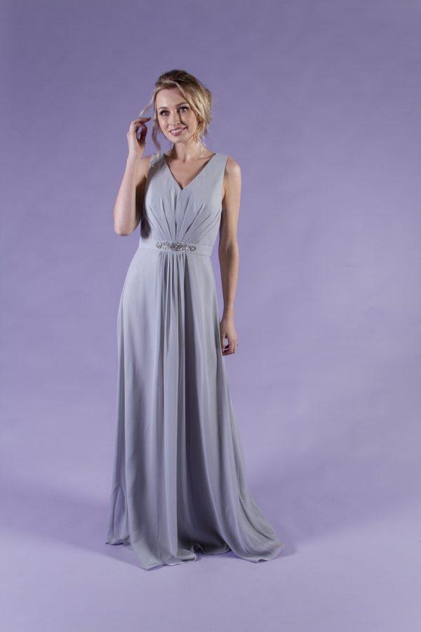 Floris-Grey-Bridesmaid-Dress