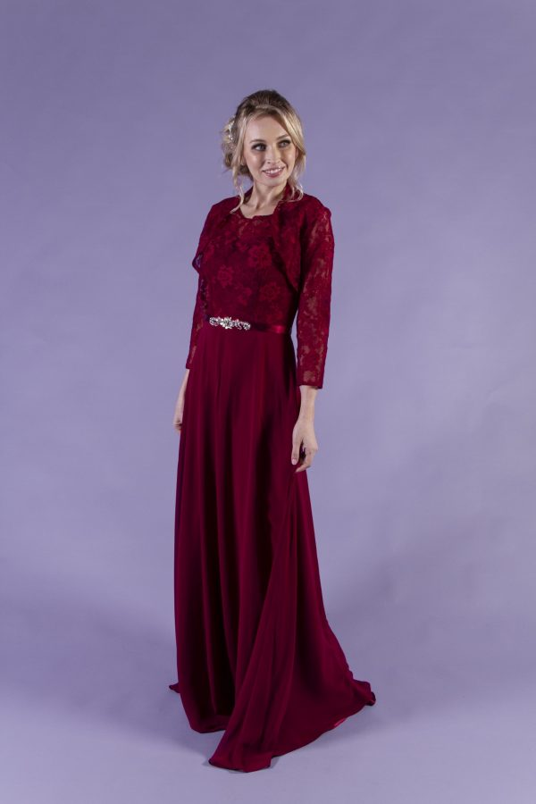 Janelle-Burgundy-Bridesmaid-Dress-2