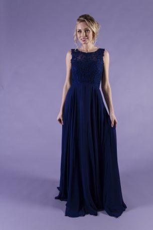 Lacey-Navy-Bridesmaid-Dress-1