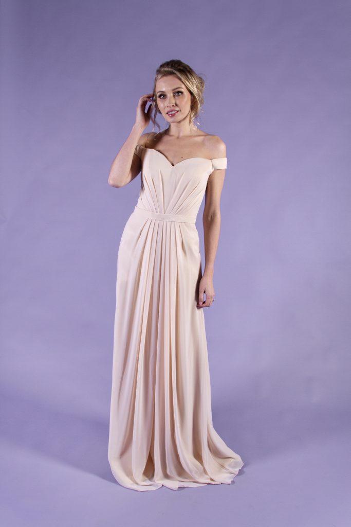 Orchid-Peach-Bridesmaid-Dress